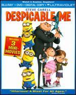 Despicable Me [2 Discs] [Includes Digital Copy] [Blu-ray/DVD]