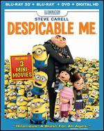Despicable Me [3 Discs] [Includes Digital Copy] [UltraViolet] [Blu-ray/DVD]