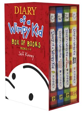 Diary of a Wimpy Kid Box of Books 1-4 - Kinney, Jeff