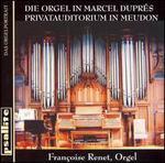 Die Orgel in Marcel Dupr�s Privatauditorium in Meudon