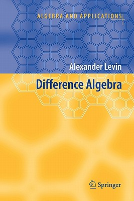 Difference Algebra - Levin, Alexander