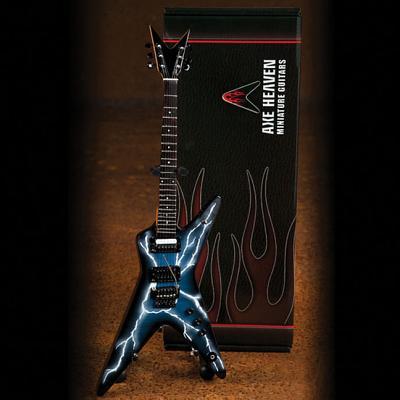 Dimebag Darrell Lightning Bolt Signature Model: Miniature Guitar Replica Collectible - Dimebag Darrell
