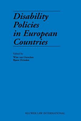 Disability Policies in European Countries - Van Oorschot, Wim, and Hvinden, Bj