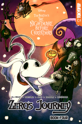 Disney Manga: Tim Burton's the Nightmare Before Christmas -- Zero's Journey Graphic Novel Book 4 (Official Full-Color Graphic Novel, Collects Single Chapter Comic Book Issues #15 - #00), 4 - Milky, D J