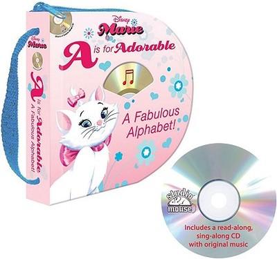 Disney Marie A is for Adorable: A Fabulous Alphabet - Galvin, Laura Gates, and Schwaeber, Barbie H (Editor), and Reardon, Alex (Designer)
