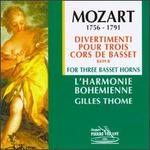 Divertimenti for Three Basset Horns