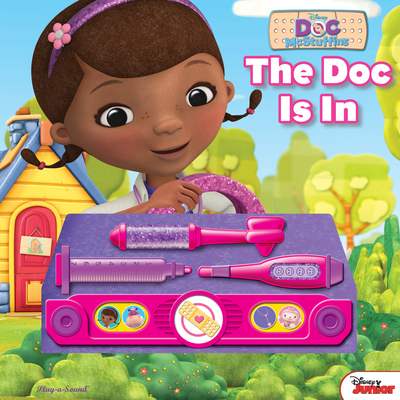 Doc Mcstuffin's - the Doc is in - Doctor Kit Book -