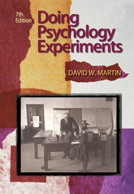 Doing Psychology Experiments - Martin, David W