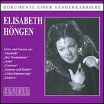 Dokumente Einer S�ngerkarriere: Elisabeth H�ngen