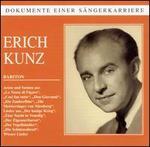 Dokumente einer Sängerkarriere: Eric Kunz