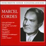 Dokumente Einer Sängerkarriere: Marcel Cordes