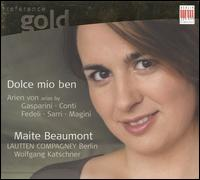 Dolce mio ben - Lautten Compagney; Maite Beaumont (mezzo-soprano); Wolfgang Katschner (theorbo)