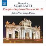 Domenico Scarlatti: Complete Keyboard Sonatas, Vol. 20