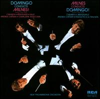Domingo Conducts Milnes! Milnes Conducts Domingo! - Doreen Price (soprano); Jean Temperley (soprano); Plácido Domingo (tenor); Sarah Walker (mezzo-soprano);...