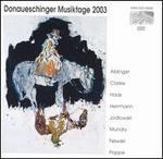 Donaueschinger Musiktage 2003