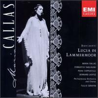 Donizetti: Lucia di Lammermoor - Bernard Ladysz (vocals); Ferruccio Tagliavini (tenor); Leonard del Ferro (vocals); Margreta Elkins (vocals);...