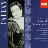Donizetti: Lucia di Lammermoor - Anna Maria Canali (vocals); Gino Sarri (vocals); Giuseppe di Stefano (vocals); Maria Callas (soprano);...