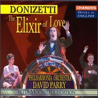 Donizetti: The Elixir of Love - Andrew Shore (baritone); Ashley Holland (baritone); Barry Banks (tenor); Helen Williams (soprano); Mary Plazas (soprano);...