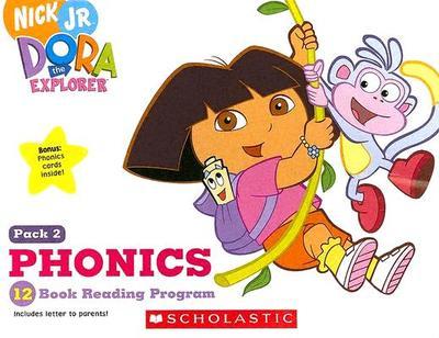 dora the explorer phonics 12 book reading program book by quinlan b