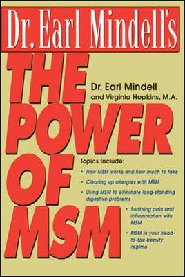 Dr. Earl Mindell's the Power of Msm - Mindell, Earl, PH D