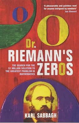 Dr Riemann's Zeros - Sabbagh, Karl