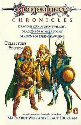 Dragonlance Chronicles: Dragons of Autumn Twilight, Dragons of Winter Night, Dragons of Spring Dawnin - Weis, Margaret, and Hickman, Tracy