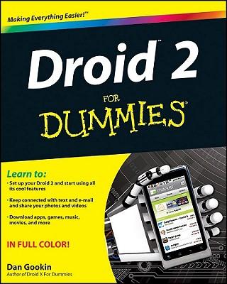 Droid 2 for Dummies - Gookin, Dan