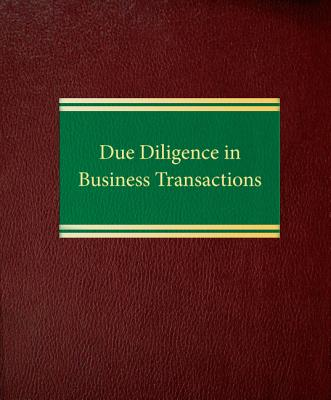 Due diligence in business transactions - Lawrence, Gary M.