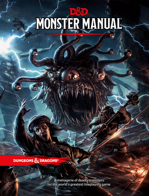 Dungeons & Dragons Monster Manual (Core Rulebook, D&d Roleplaying Game) - Wizards RPG Team