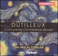 Dutilleux: Complete Orchestral Works - Andrew Orton (violin); Bernard Robertson (celeste); Boris Pergamenschikow (cello); David Chatwin (bassoon);...