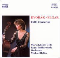 Dvorák, Elgar: Cello Concertos - Maria Kliegel (cello); Royal Philharmonic Orchestra; Michael Halász (conductor)