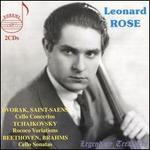 Dvorák, Saint-Saëns: Cello Concertos; Tchaikovsky: Rococo Variations; Beethoven, Brahms: Cello Sonatas