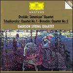 "Dvorák: String Quartet No. 12 ""American""; Tchaikovsky: String Quartet No. 1; Borodin: String Quartet No. 2"