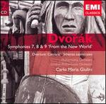 Dvorák: Symphonies 7, 8 & 9 'From the New World'; Carnaval Overture; Scherzo capriccioso