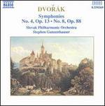 Dvorák: Symphonies Nos. 4 & 8