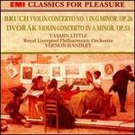 Dvorák: Violin Concerto; Bruch: Violin Concerto No. 1
