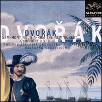 Dvorak: Symphonies 8 & 9 - Philadelphia Orchestra; Wolfgang Sawallisch (conductor)