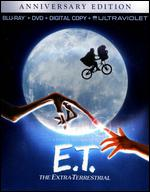 E.T. The Extra-Terrestrial [Anniversary Edition] [2 Discs] [Includes Digital Copy] [Blu-ray/DVD] - Steven Spielberg