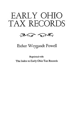 Early Ohio Tax Records - Powell, Esther Weygandt