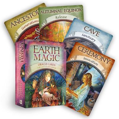 Earth Magic Oracle Cards - Farmer, Steven