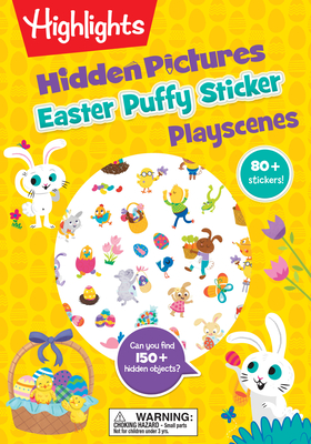 Easter Hidden Pictures Puffy Sticker Playscenes - Highlights (Creator)
