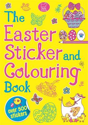 Easter Sticker and Colouring - Cottingham, Tracy