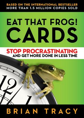 Eat That Frog! Cards: Stop Procrastinating and Get More Done in Less Time - Tracy, Brian