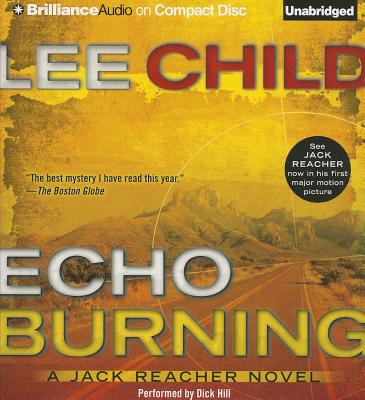 Echo Burning - Child, Lee, and Hill, Dick (Read by)