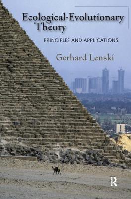 Ecological-Evolutionary Theory: Principles and Applications - Lenski, Gerhard