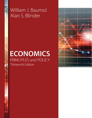 Economics: Principles and Policy - Baumol, William J, and Blinder, Alan S