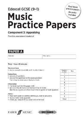 Edexcel Music GCSE Practice Papers - Winterson, Julia