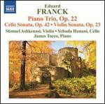 Eduard Franck: Piano Trio; Cello Sonata; Violin Sonata