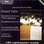 Eduard Tubin: Symphonies No.2 & 6