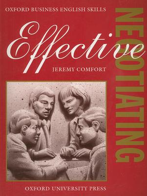 Effective Negotiating - Comfort, Jeremy